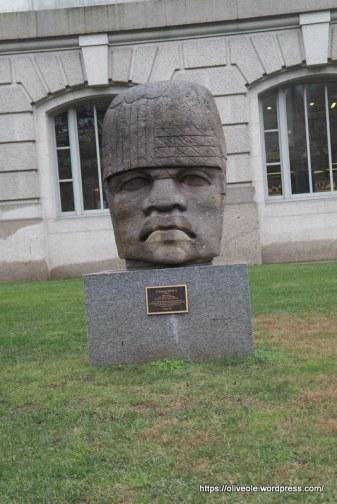 Colossol Head, portrait of an Olmec Ruler