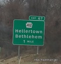 HELLertown and Bethlehem are close by