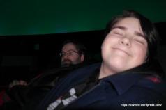 Comfy seats in the Planetarium