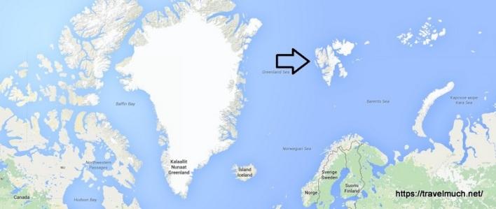 1-Svalbard kart