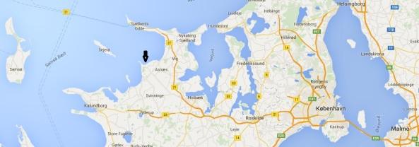 Ordrup Strand Map