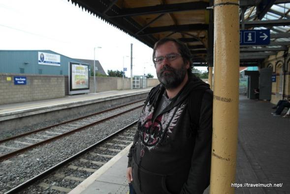 waitin' on da train