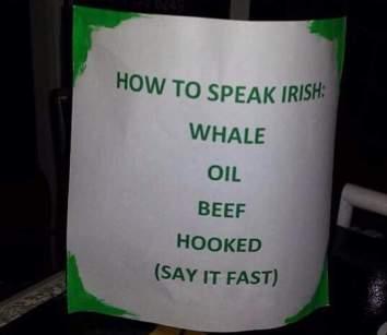 Intro to Irish