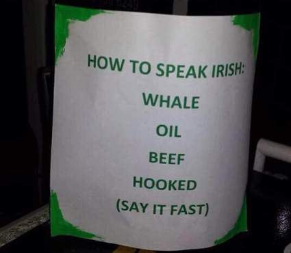 Intro to Irish