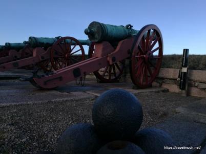 Canons at Kronborg Slot