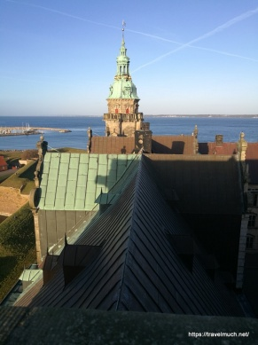 View from Kronborg Slot